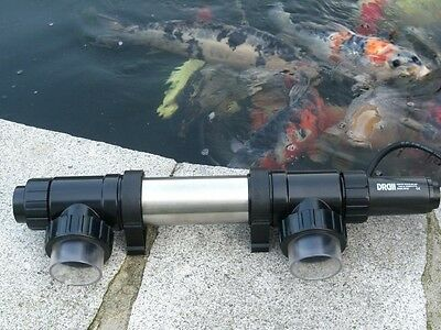 Wei pro line 2kw or 3kw koi pond fish water heater for Koi pool heaters