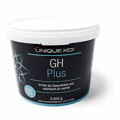 TT20.65€/kg Unique Koi GH Plus 3000 g for stabilization of total hardness in pon