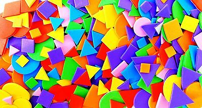 Foam Shapes Self Adhesive Craft 100 by Amazing Arts and Crafts