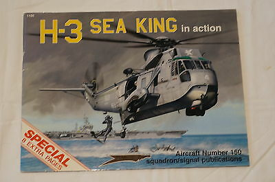 Current Canadian H3 Sea King  Squadron Signal Aircraft 150  Reference Book