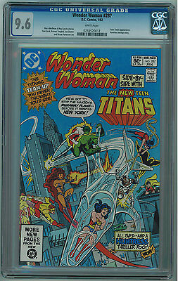 Wonder Woman #287 Cgc 9.6 2Nd Best Cgc Grade White Pages Bronze Age