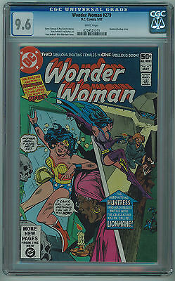 Wonder Woman #279 Cgc 9.6 High Grade White Pages Bronze Age
