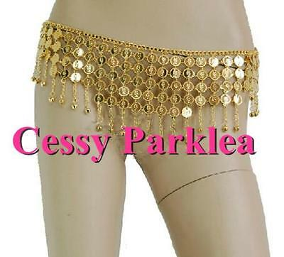 Belly Dance Accessories Bollywood Jewelery Handmade Metal Belts Gold Silver