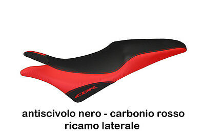 SEAT COVER FOR HONDA CBR 600 F 2011 - 2013 PESCARA by tappezzeriaitalia.it