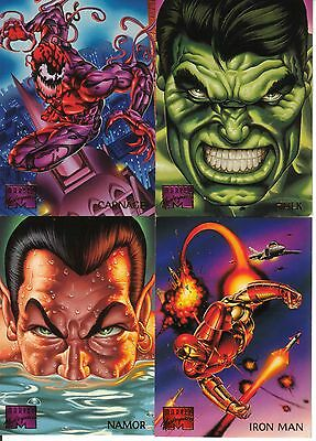 Choose a Base Card from the 1995 Marvel Masterpieces Card Set!