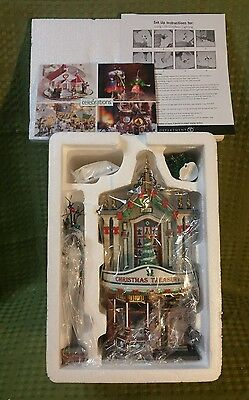 """Dept 56 Christmas in the City Series """"Christmas Treasures"""""""