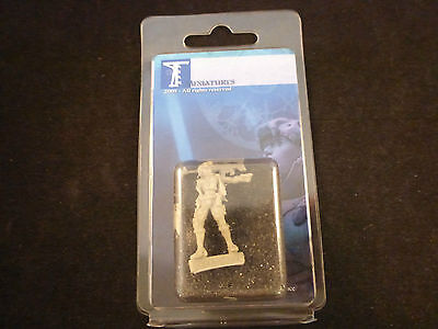Taban Miniatures Irina Post Apocalyptic Female Mercenary Blister Pack