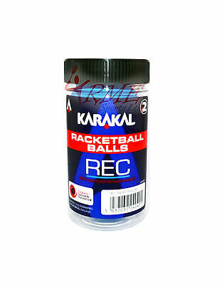 Karakal Racquetball Balls 2 Pack - Blue (Recreational Balls)