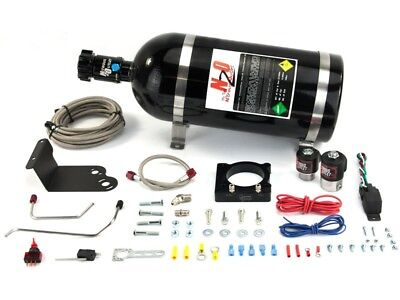 Nitrous Outlet Wet Plate Nitrous Kit - 2011-Up Mustang V6 3.7L 50-200HP Jetting