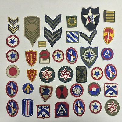 Lot of Vintage US Military Patches - VS22-108