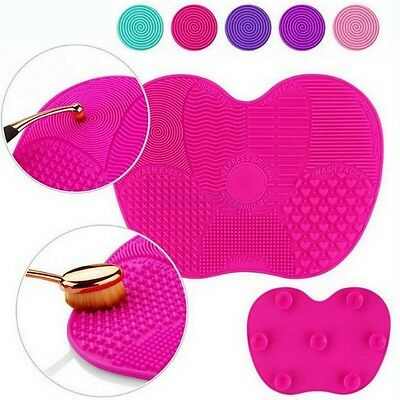 Make up Brush Cleaner Scrubber Cosmetic Cleaning Accessories Hand Tool Glove Mat