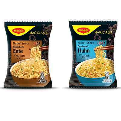MAGGI Magic Asia - Spicy Chicken & Duck Instant Ramen Noodle Soup 65g 2.3oz