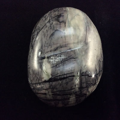 Picasso Spider Web Jasper Massage Therapy Stone-1-Metaphysical, Reiki