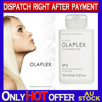 OLAPLEX Step 3 - NO.3 HAIR PERFECTOR 100ml  New and Sealed 100% Authentic