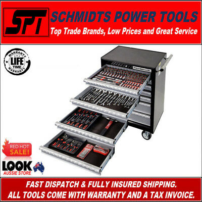 Gearwrench 89902 173 Piece Mechanics Tool Kit With 7 Draw Roller Cab - Trolley