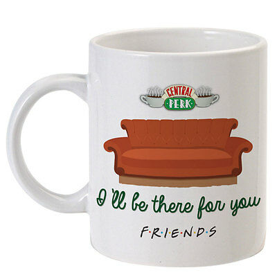 """Tazza serie tv Friends inspired, """"Central Perk"""", I'll be there for you, divano!"""