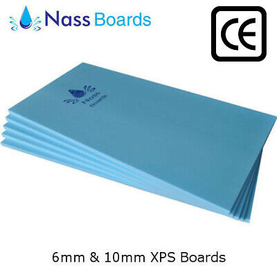 6mm / 10mm UNDERFLOOR UNDER FLOOR HEATING INSULATION XPS BOARDS