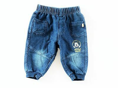Baby Disney Mickey  cotton Trousers /Denim/pants age 3 months up to 24 months