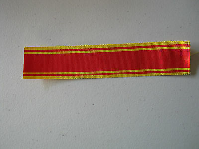 Replacement - Fire brigade Long service medal - Ribbon 6'' (150mm) long