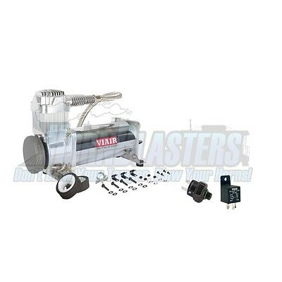 Viair Single 444C Air Compressor Kit with 200psi Off Switch & Relay Included