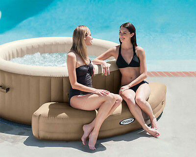 Genuine Intex Pure Spa Inflatable Bench Intex Pure Spa 28404 Hot Tub, Spare Part