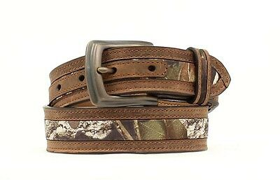 "NOCONA - Boy's Belt 1.25"" - Mossy Oak - N44192222 - NEW"