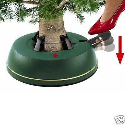 Krinner VBasic Small - Foot Operated Christmas Tree Stand for 1.8m (6ft) Trees