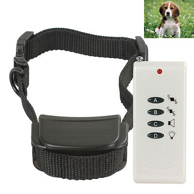 White Vibrate Remote Control Dog / Pet Training Collar System for Small Dog