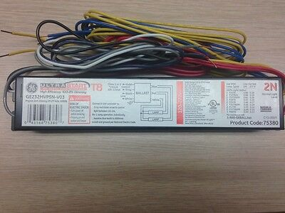 10 Ge 75380 Ge232Mvpsn-V03 120/277V T8 Dimming Program Start Fluorescent Ballast