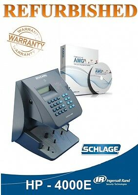 Refurbished HandPunch HP-4000-E with Ethernet | AMG Software Package