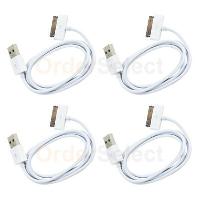 4 NEW HOT! USB Charger Cable Cord for Apple iPod Touch 1 2 3 4 1st 2nd 3rd GEN