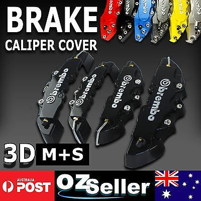 4pcs Black 3D Brembo Look Brake Caliper Cover For Holden UTE VU VY VZ VE ZC BR