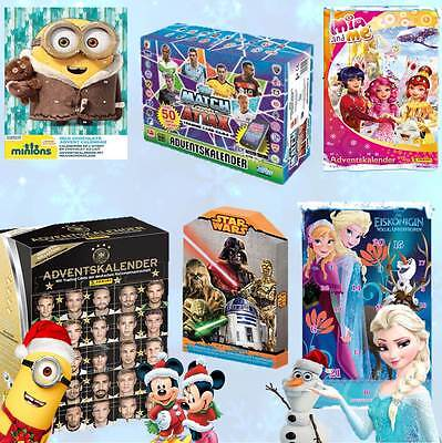 Adventskalender 2015 Weihnachtskalender Frozen Minion Star Wars Yugioh Dragons