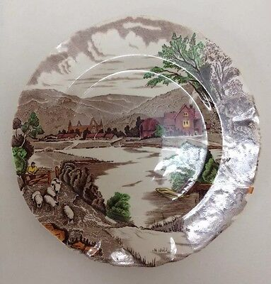 Alfred Meakin England 'Tintern' Hand Painted Plate (BOX0012)