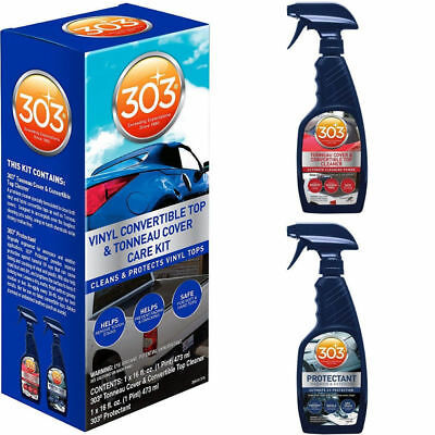 303 Vinyl Convertible Top Kit Cleaner & Protectant For Car FREE Shipping 30510