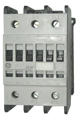 GE CL07A300MS 3 pole 100 AMP contactor with a 240 volt AC coil