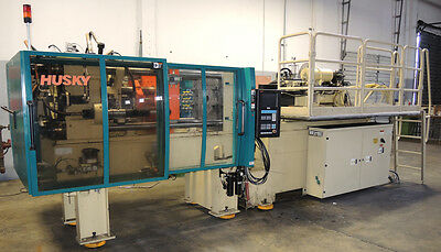 Husky Injection Molding Machine Model G 160 RS 42/30 Tonnage: 180 / 160 Metric