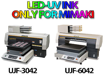 NEW MIMAKI UV-INK Cartridge FOR UJF-3042 / UJF-6042 560ml  Mimaki LH-100 UV Ink