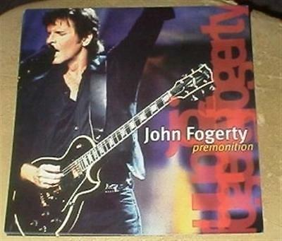 "JOHN FOGERTY Premonition Promo 12x12"" poster flat Creedence Clearwater Revival"