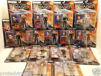 """Star Trek Voyager Playmates Asst 6480 Collectible 5"""" Action Figure Sealed"""