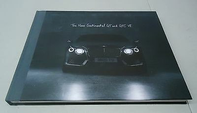 "Bentley ""the New Continental Gt And Gtc V8"" Hardback Dealer Brochure Book"