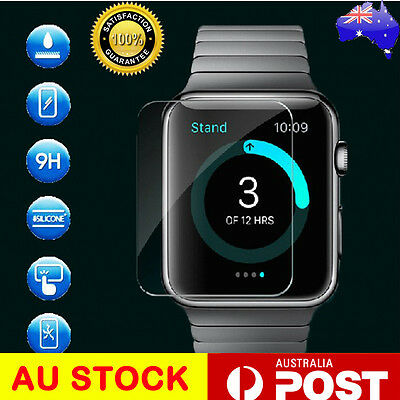 Ultra Clear Screen Protector for Apple Watch  38 mm  Front Cover Film iWatch