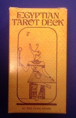 Egyptian Tarot Deck IV The Cubic Stone