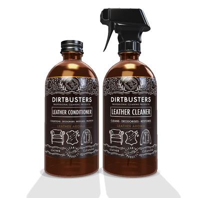 Professional Leather car cleaner kit 500ml and conditioner 500ml leather aroma