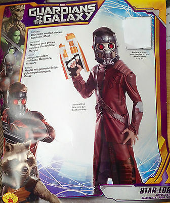 Fancy Dress Costume Boys  3 4 5 6 7 8 star-lord  guardians of the galaxy  new