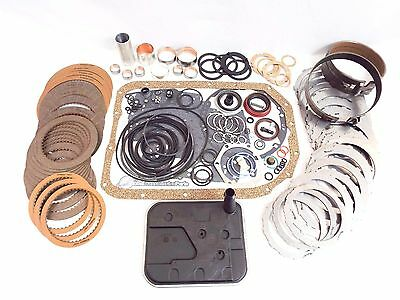 4L80E 1991-1995 Super Master Rebuild Kit W/ Clutches Steels Bands Overhaul Bush