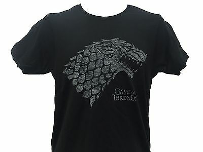 Game of Thrones House Stark Winter is Coming Wolf Insignia Men's T shirt