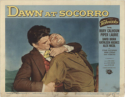 Dawn at Socorro 1954 Original Movie Poster Western