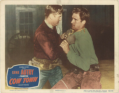 Cow Town 1950 Original Movie Poster Action Western