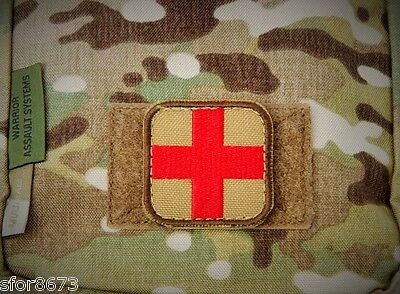 Medic Patch First Aid 1St Aid Medical Trauma Velcro® Id Patch Multicam Low Vis